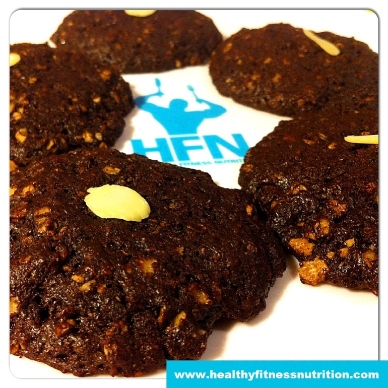 Schoko Protein Cookies Rezept – Fitness Dessert