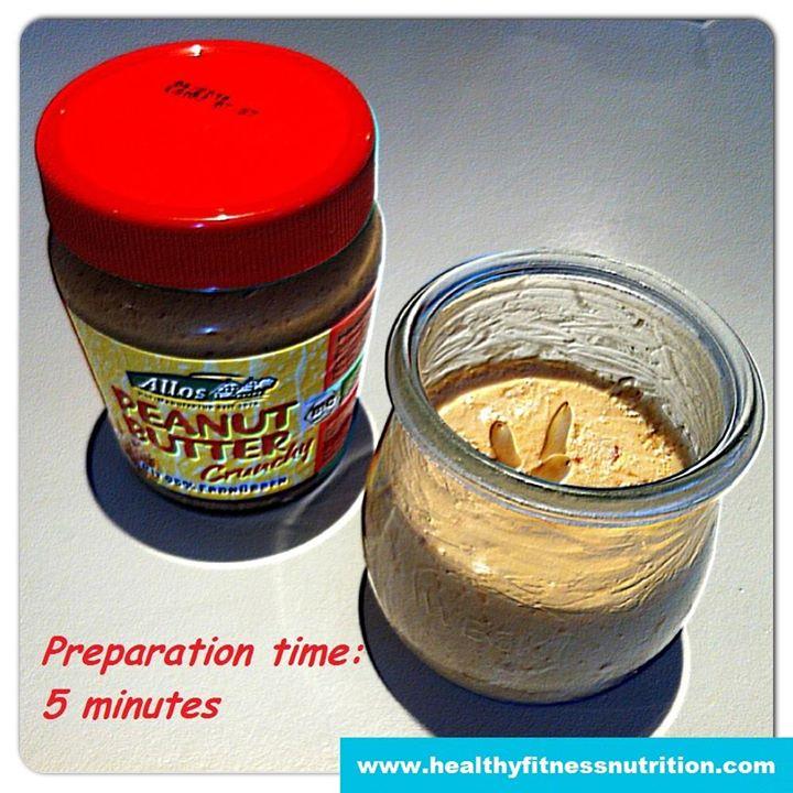 Protein Erdnussbutter Eiscreme Rezept