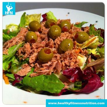 Italienisches Protein Thunfisch-Salat Rezept