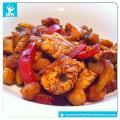 Low-Carb-Rezept-Curry-Wok-Putenfleisch