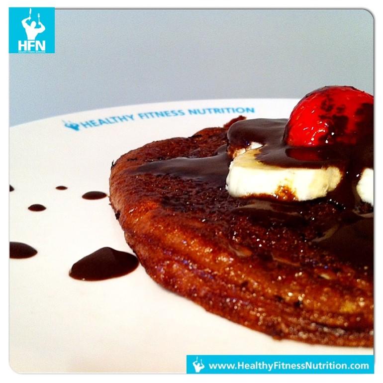 Schoko Protein Pancakes Rezept zum selber machen (Low-Carb)