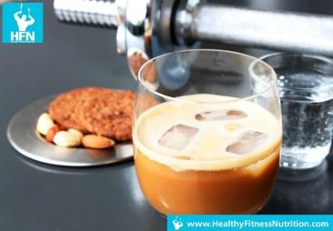 Protein Eiscafe Rezept (Kokos-Vanille)