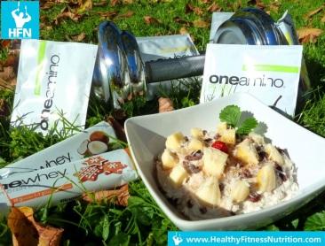 Vanille – Weiße Schokolade High-Protein Müsli Rezept