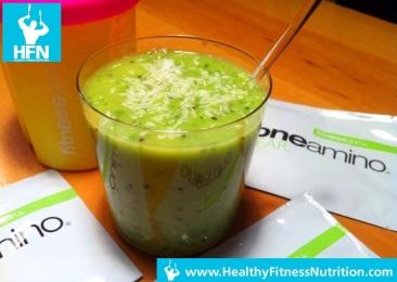Grüner Smoothie Rezept mit BCAA