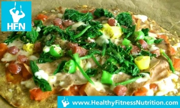 Low-Carb Pizza Rezept