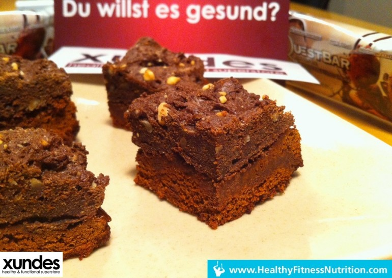 Questbar Rezept Serie Schoko Eiweiss Kuchen Rezept