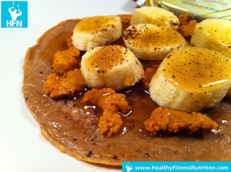 Questbar Serie: Banane Protein Pancakes Rezept