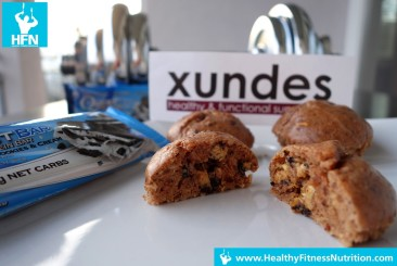 Questbar Serie: Low-Carb Cookies & Cream Protein Muffins Rezept