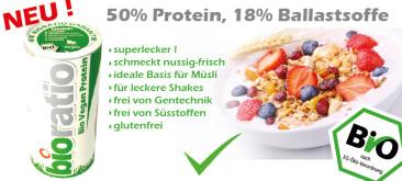 Veganes Bio Protein von Bioratio