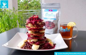 Protein Pancakes Selber Machen (Schoko-Mandelbutter)