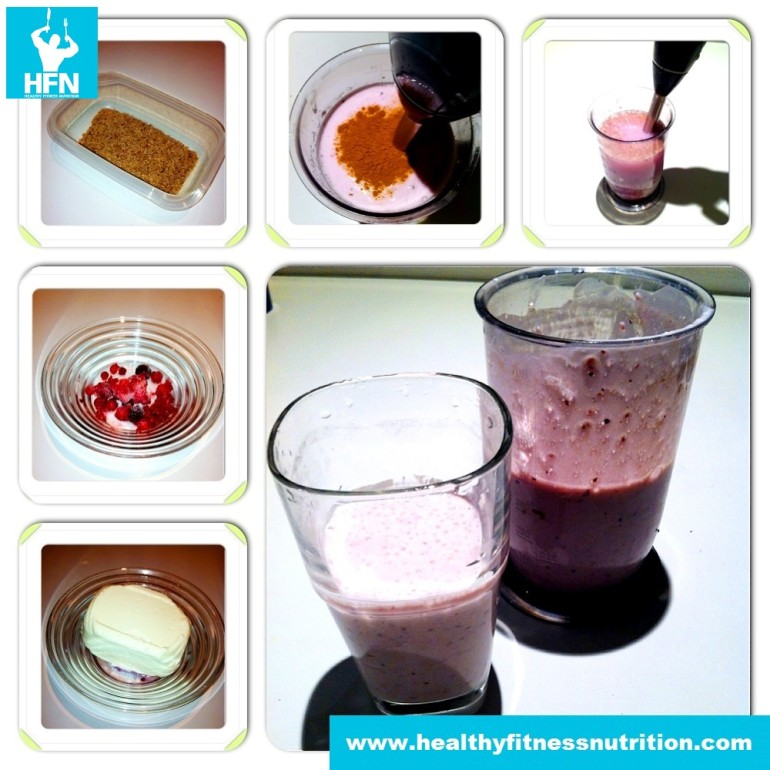 Fitness Night Protein Shake