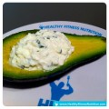 Fitness-Snack-Avocado-Cottage Cheese
