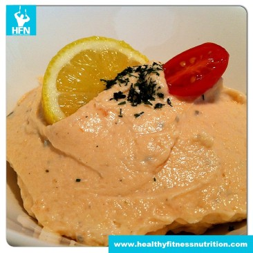Fitness Snack: Low-Carb Salmon Mousse