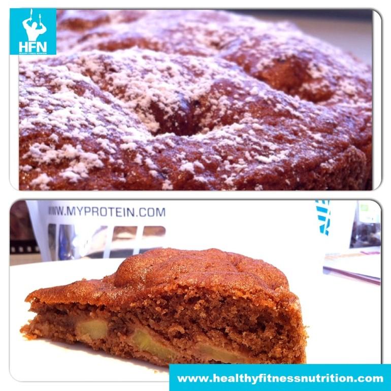 Fitness Recipe: Protein Cake (Chocolate-Nut)