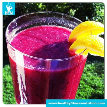 Fitness Shake: Summer Protein Smoothie
