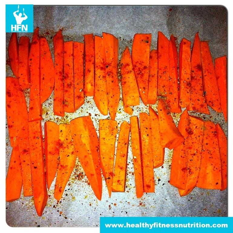 Healthy Sweet Potatoe French Fries