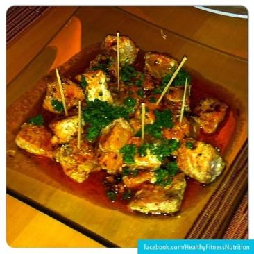 Salmon filet recipe with Mojo-sauce