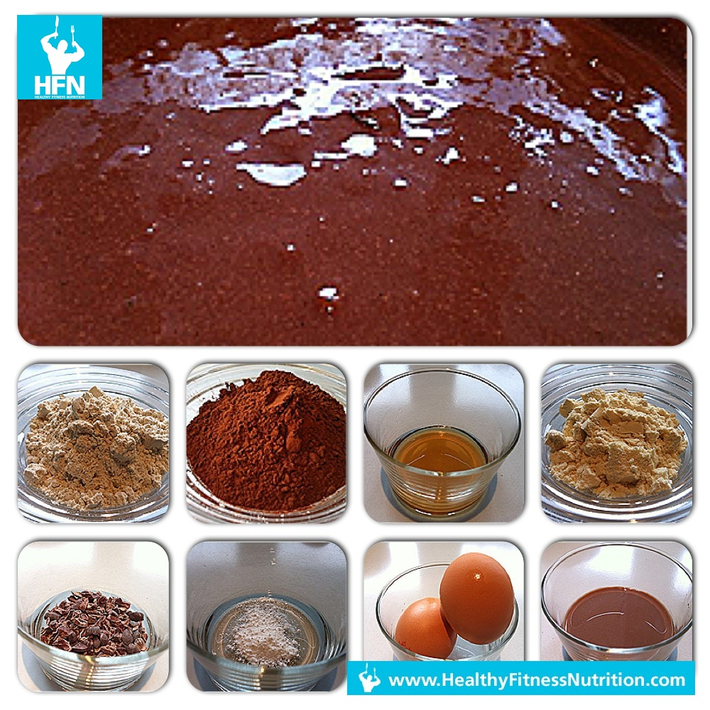 how to make whey protein brownies