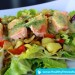 Salmon Salad with Mustard-Dill Marinade Low-Carb Meal