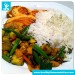 Salmon-filet in Lemon-Ginger Sauce with Basmati Rice