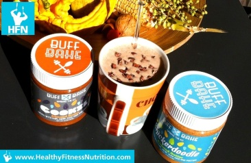 Almond Chocolate Protein Shake Recipe (Buff Bake)