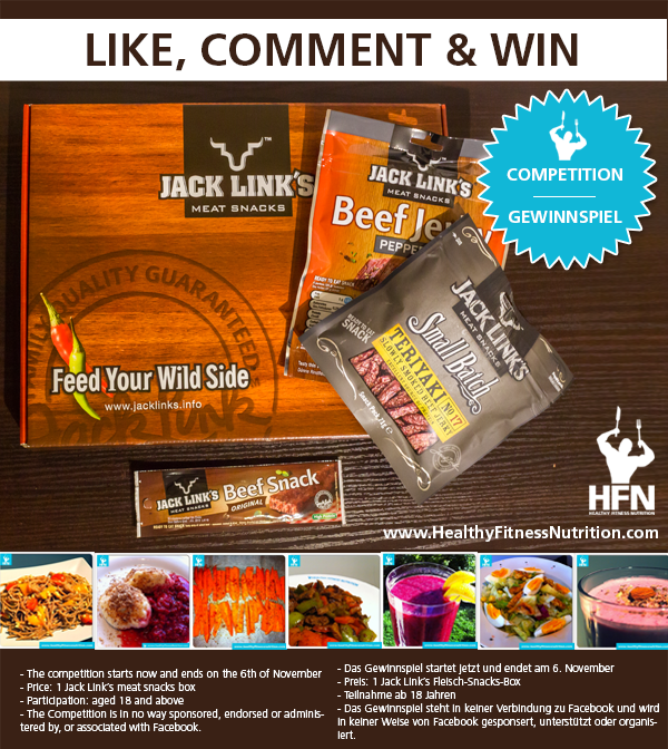 +++Competition+++ Win 2 x 1 Jack Link´s Beef Snacks Box