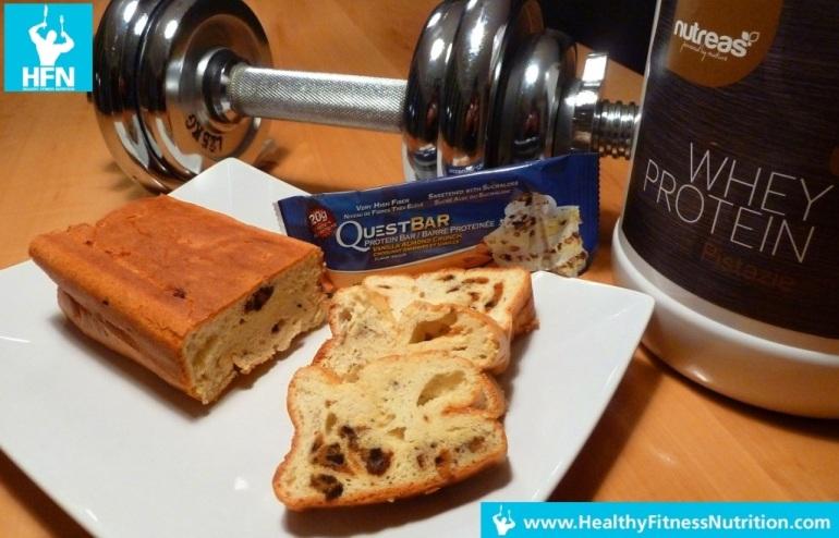 Questbar Recipe Series: Vanilla Protein Blondies