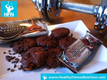 QuestBar Recipe Series: Protein Chocolate Cookies Recipe
