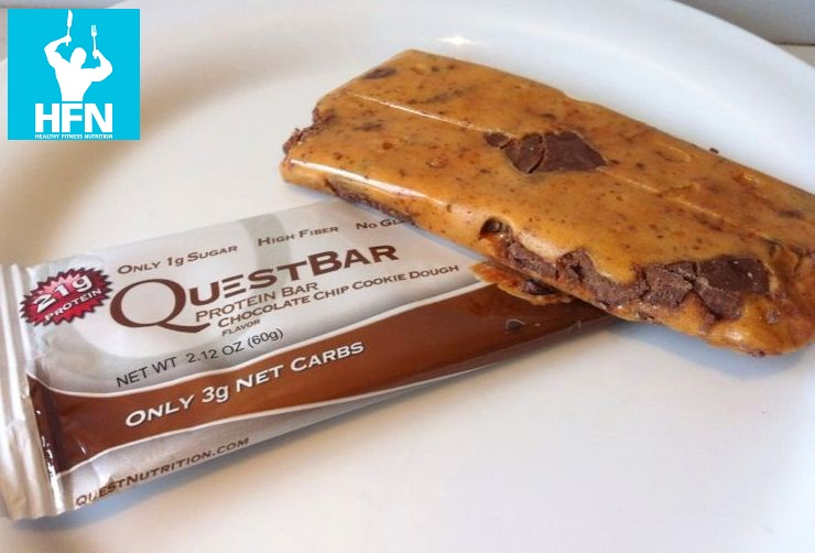 Chocolate Chip Cookie Dough Protein Bar