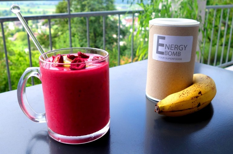 Acai Smoothie Recipe with Protein
