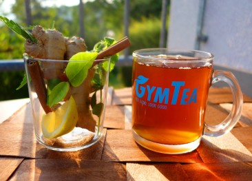 GymTea – 100 % Natural and Unsweetened Fitness Drink